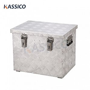 70L Aluminum Checker Board Tool Box