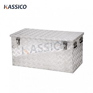 250L Sturdy Aluminum Storage Transport Case
